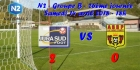 N2 - 26ème journée : Jura Sud Foot 2-0 AS Saint-Priest, mi-temps 1-0